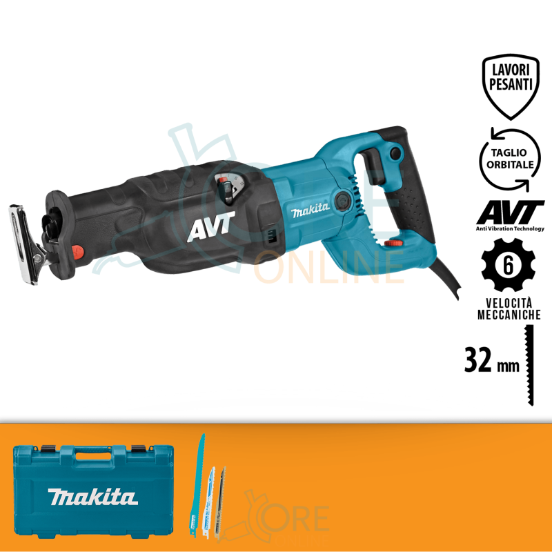 Seghetto dritto Makita JR3070CT 1500W