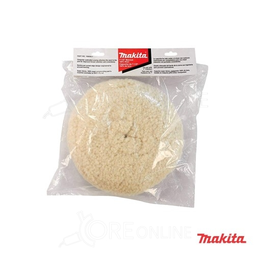Cuffia in lana d'agnello per lucidatrice 180 mm Makita 192629-7