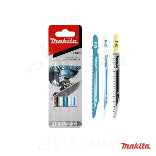 Pacco 3 lame super express Makita B-06292