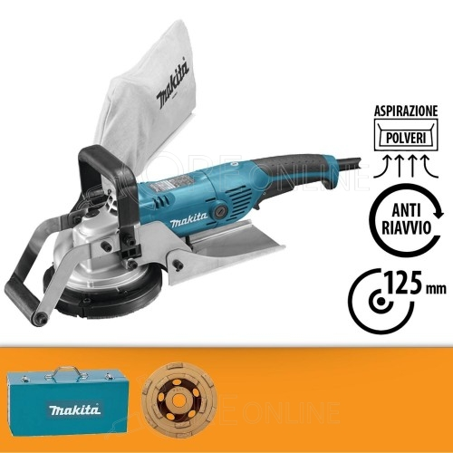 Pialla da muro Makita PC5001C