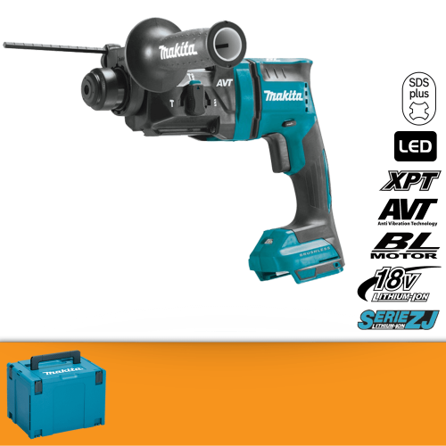 Makita Tassellatore SDS-PLUS DHR182ZJ + KIT ENERGY 191A24-4
