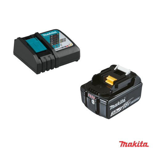 Kit energia makita 191A24-4 ( 1 X batterie 18V 3Ah + DC18RC )
