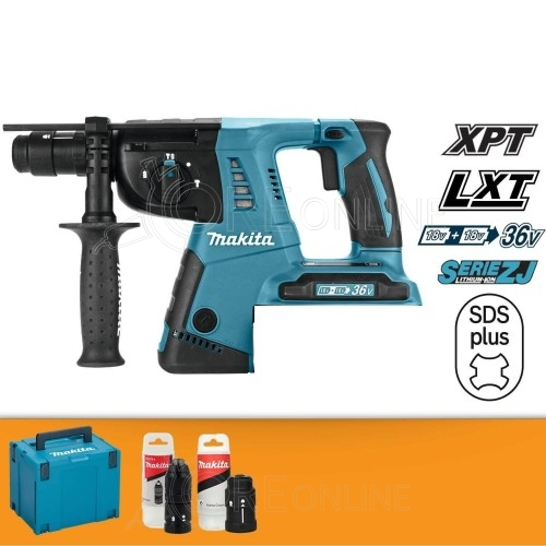 Makita Tassellatore a tre funzion SDS-PLUS DHR264ZJ