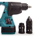 Makita Tassellatore a tre funzion SDS-PLUS DHR243ZJ + KIT ENERGY 191A24-4