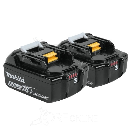 Batteria makita BL1850B-2 x2 Twin pack (18V 5 Ah - 197280-8)