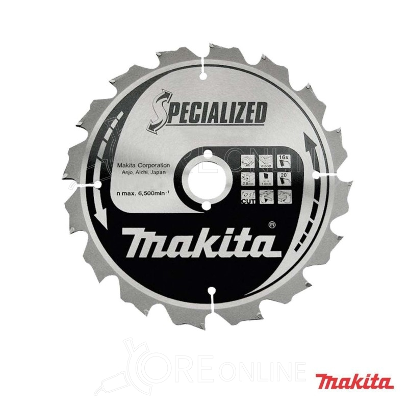 Lama Makita specialized B-13683 190 mm