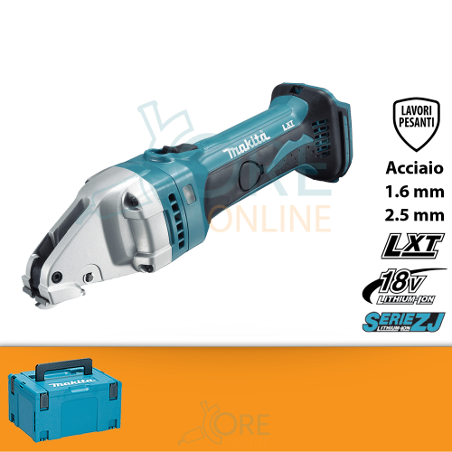 Cesoia a batteria Makita DJS161ZJ + KIT ENERGY 191A24-4