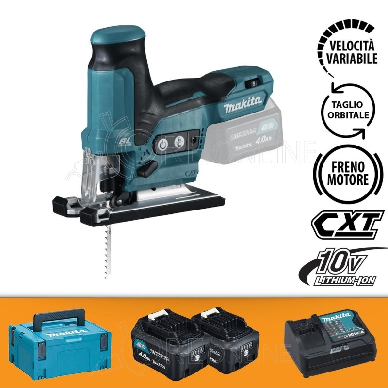 Seghetto alternativo Makita JV102DSMJ